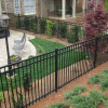 Ornamental Iron 3 Rail