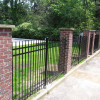 Ornamental Iron Pressed Picket 3 Rail