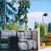 Ornamental Iron Industrial Gate